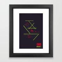 ORD Framed Art Print