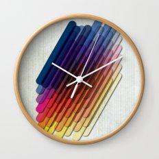 LollyStick Rainbow Wall Clock
