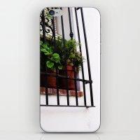 Whitewashed Walls iPhone & iPod Skin
