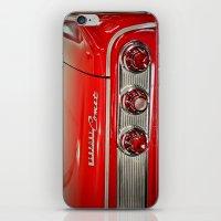 1963 Mercury Comet Red iPhone & iPod Skin