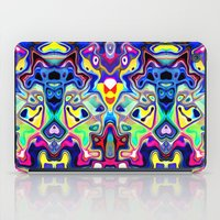 Abstract Pop Art Faces iPad Case