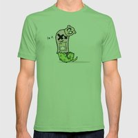 Slugger Mens Fitted Tee Grass SMALL
