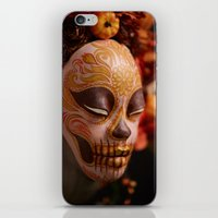 Pumpkin Harvest Muertita Detail iPhone & iPod Skin