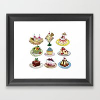 What You DESSERT Is What… Framed Art Print