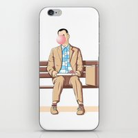 Bubble Gump iPhone & iPod Skin