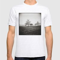 { skeleton trees } Mens Fitted Tee Ash Grey SMALL