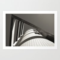 IN POINT Art Print