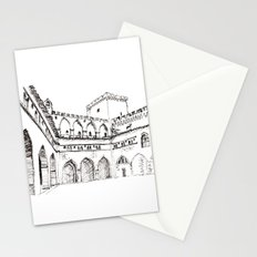 the rain court Stationery Cards