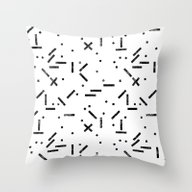 My Favorite Pattern 13 Throw Pillow