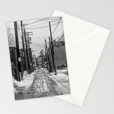 Winter Alley Stationery Cards