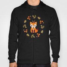 LITTLE FOX WITH AUTUMN BERRIES Hoody