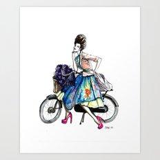 Moda Italia Art Print