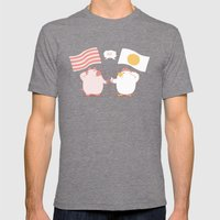 Breakfast Mens Fitted Tee Tri-Grey SMALL