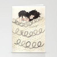 Bed Time Stationery Cards