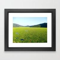 Il Mare Verde Framed Art Print