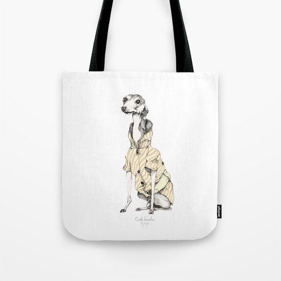 he would never do it Tote Bag