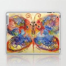 Astrazioni su ali di farfalla Laptop & iPad Skin