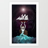 The Daughter Of Prospero Art Print