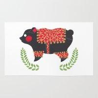 The Ethnic Bear Rug