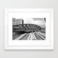 Paris gare de l'Est  Framed Art Print