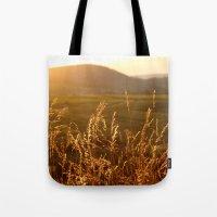 Gold Warm Light - JUSTAR… Tote Bag