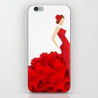 The Dancer (Flamenco) iPhone & iPod Skin
