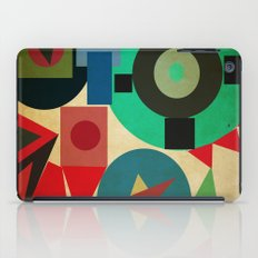 geometric mess iPad Case