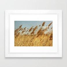 Feeling That Breeze Framed Art Print
