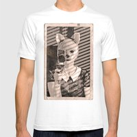 Fox Blood Mens Fitted Tee White SMALL