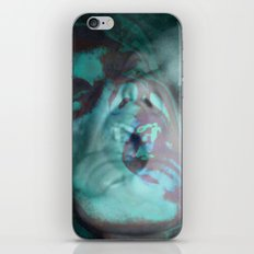 La Chica Loca (in blue) iPhone & iPod Skin
