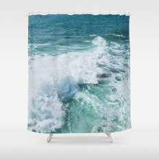 The Wave. Shower Curtain