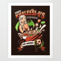 Hearty Khaleesio's Art Print