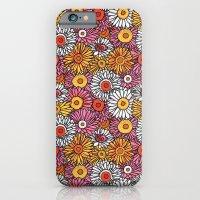 Daisy Pattern iPhone 6 Slim Case