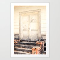 Closed Down Art Print