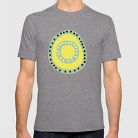 Vida / Life 02 Mens Fitted Tee Tri-Grey SMALL