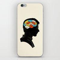 Han Phrenology iPhone & iPod Skin