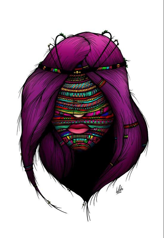 Colorful Roots (Color Version) Canvas Print
