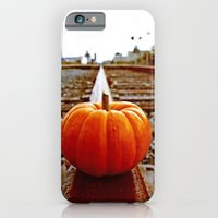 iPhone & iPod Case featuring Railroad pumpkin by Vorona Photography