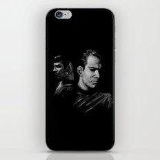 Kirk & Spock iPhone & iPod Skin