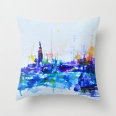 venice my love Throw Pillow