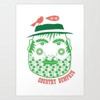 Country Bumpkin Art Print