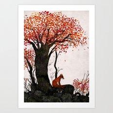 Fantastic Mr. Fox Doesn't Feel So Fantastic Anymore Art Print