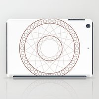 Anime Magic Circle 17 iPad Case
