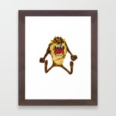 Devil Framed Art Print