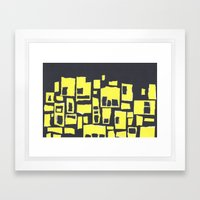 La Nuit Framed Art Print
