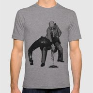 Kata Mens Fitted Tee Athletic Grey SMALL