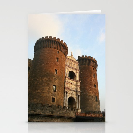 Naples Castle Stationery Card