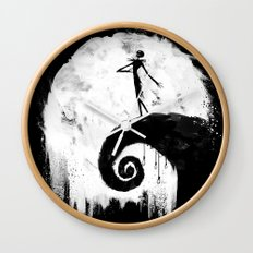 All Hallow's Eve Wall Clock