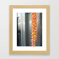 Flower Tails Framed Art Print