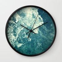Water III Wall Clock